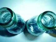 透明玻璃瓶特写图片_11张