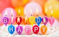 五顏六色的生日蠟燭圖片_6張