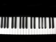 钢琴键盘图片 _15张