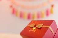 可愛的紅色生日禮物圖片_10張