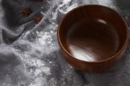 小清新日式木碗图片_19张