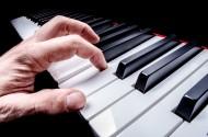 钢琴琴键图片_17张