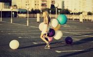 缤纷美丽的气球图片_25张