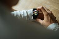 手腕上的Apple watch苹果手表图片_12张