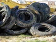 废旧的轮胎图片_6张