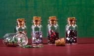 小玻璃瓶许愿瓶图片_11张