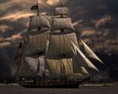 扬起的船帆图片_12张
