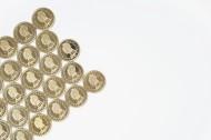 亮閃閃的硬幣圖片_10張