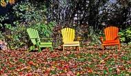 孤獨的空椅子圖片_14張