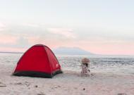 旅行搭建的帐篷图片_10张