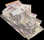 纸币透明背景PNG图片_18张