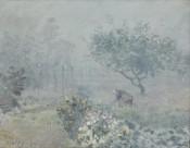 印象派画家阿尔弗莱德·西斯莱绘画