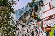 城市街道上的涂鸦图片_9张