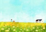 春天插画图片_25张