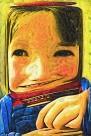 抽象儿童油画图片_22张