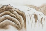 傳統水墨山水國畫圖片_21張