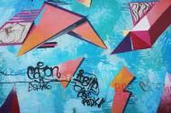 街头墙上的涂鸦艺术图片_10张