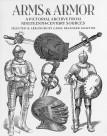 手繪古代兵器盔甲圖片_30張