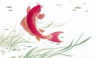 水墨畫寫意鯉魚圖片_9張