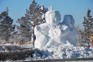 雪雕藝術圖片_17張