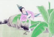 《窈窕淑女》國畫圖片_8張