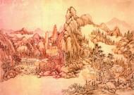 中國古典風景圖片_43張