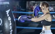 女子搏击运动图片_12张
