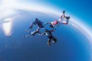 高空跳伞图片_36张