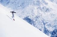 高清滑雪運動圖片_28張