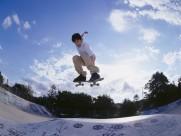 滑板運動圖片_50張
