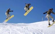 滑板滑雪極限運動圖片_10張
