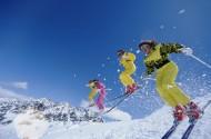 滑雪運動圖片_44張