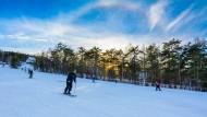 冬日滑雪場圖片_17張