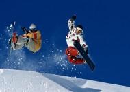 滑雪运动图片_44张