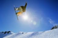 极限滑雪图片_18张