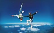 高空跳傘極限運動圖片_20張