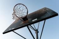 操场篮球框的图片_10张