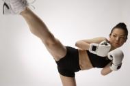 女性搏擊健身圖片_50張