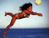沙灘排球運動圖片_7張