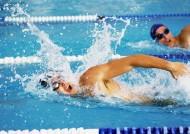 游泳竞赛图片_20张