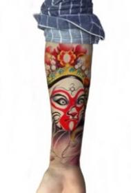 包小臂的一组纹身效果图欣赏