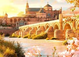 一組在陽光照耀下的歐洲城市風景圖片欣賞