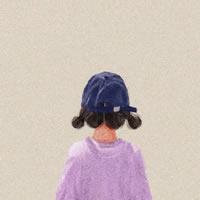 插画家 ottokim 笔下的女孩背影系列头像图片