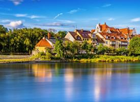 一组景色怡人的湖光山色图片欣赏