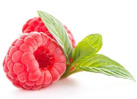 含有多种营养元素的树莓图片欣赏