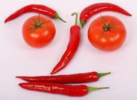一組紅紅的辣椒高清寫真圖片欣賞