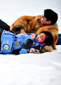 趙又廷楊子珊《南極絕戀》海報圖片