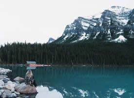 翻山越嶺,靜靜沉思,只愿心靜如水