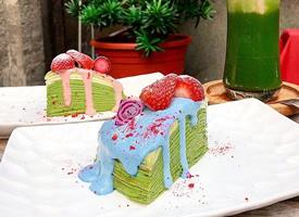一组看起来就甜甜的草莓蛋糕图片欣