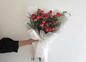 一束简单唯美小清新的花束图片欣赏